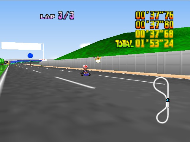 Mario Kart 64 - Hah! Beat THIS time record! - User Screenshot
