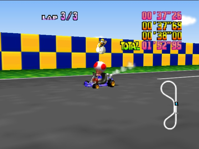 Mario Kart 64 - Now beat this! - User Screenshot
