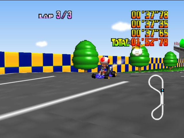 Mario Kart 64 - Or this. - User Screenshot