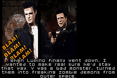 Max Payne - zombie demons from outer space? - User Screenshot