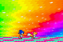Sonic Advance 3 - Nyan Tails and Sonic - User Screenshot