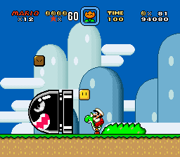 Super Mario World - Level Yoshi - vizzed screenshot competition july 2015 - User Screenshot