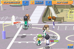 backyard sports basketball 2007 gba game game boy advance user