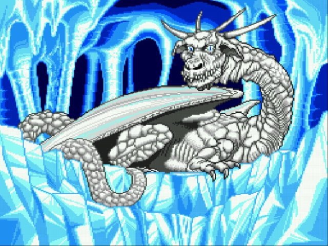Lunar: The Silver Star - Cut-Scene  - White Dragon - User Screenshot