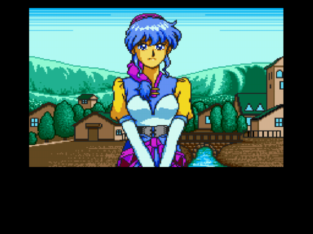 Lunar: The Silver Star - Cut-Scene  - Luna - User Screenshot