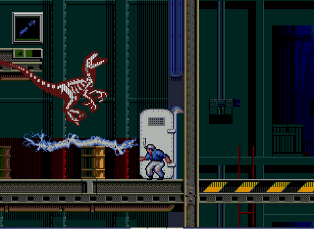 Jurassic Park - Rampage Edition - ...Electrokenesis? - User Screenshot