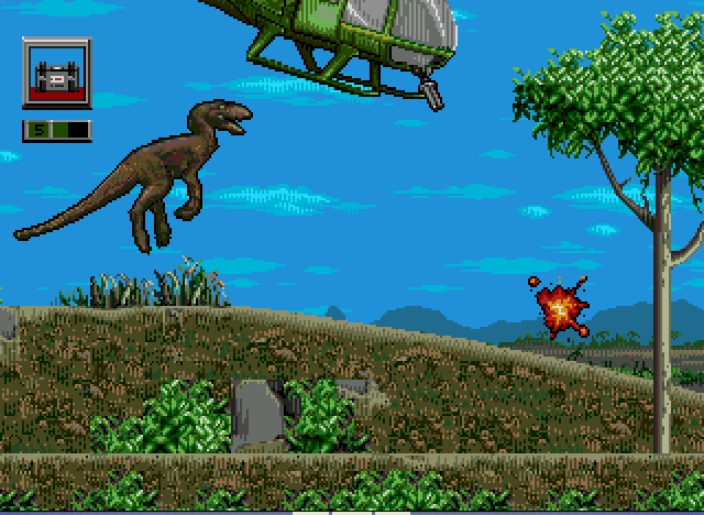 Jurassic Park - Rampage Edition - Raptor knows the drill, TEAR IT DOWN!!! - User Screenshot