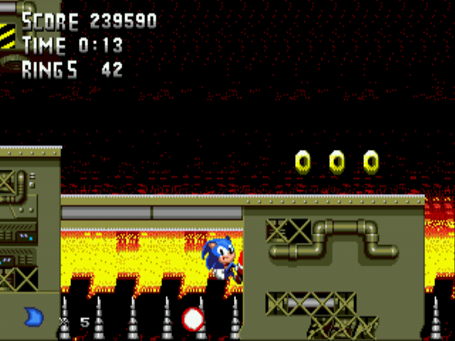 Metal Sonic Hyperdrive (Beta) - Consider this a Close Call - User Screenshot