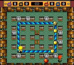 Super Bomberman 2 - Dare to ride the explosive wave? - User Screenshot