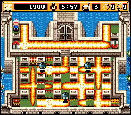 Super Bomberman 2 - Geez man, easy on the boom booms - User Screenshot