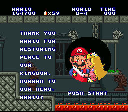 Super Mario All-Stars  Super Mario World - beat the bonus quest - User Screenshot