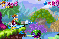 Rayman Advance - Level The forests of forgetful -  - User Screenshot