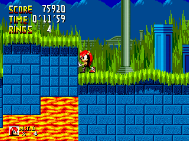 Sonic 1 Megamix - I am Mighty the cross-eyed armadillo - User Screenshot