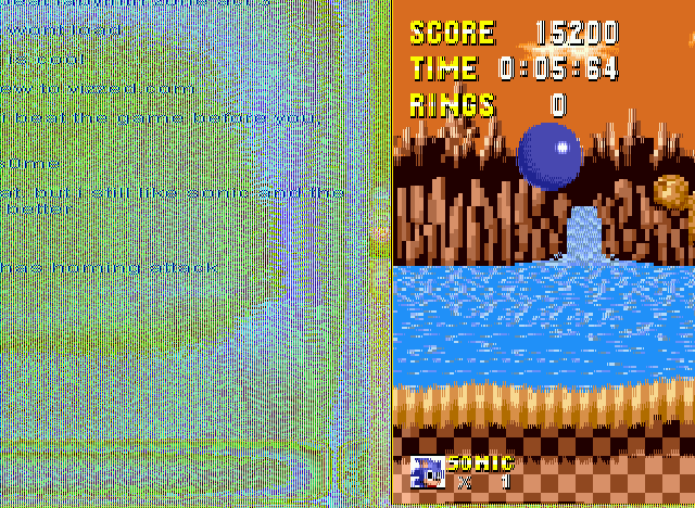 Sonic 1 Megamix - vizzed iz awsum - User Screenshot