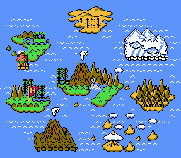 Adventure Island 2 - The Eight islands. - User Screenshot