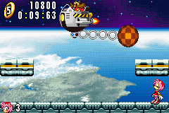 Sonic Advance - Battle  - Eggman trying to kill you with Nostalgia. - User Screenshot