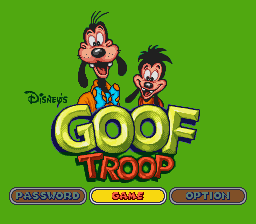 Goof Troop - A FATHER AND SON GAME! - User Screenshot