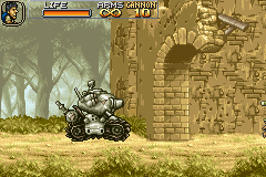 Metal Slug Advance - Slugged! - User Screenshot