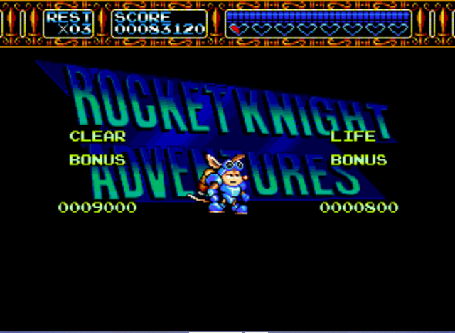Rocket Knight Adventures - Sparkster: So easy... - User Screenshot