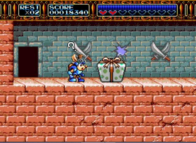 Rocket Knight Adventures - Mysterious Gift... - User Screenshot