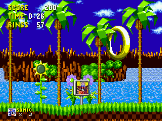 Sonic the Hedgehog - Even moar rings. - User Screenshot