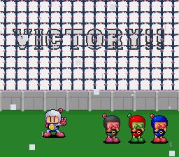 Super Bomberman 2 - Cry, Bunch of Baibes!  >=D - User Screenshot
