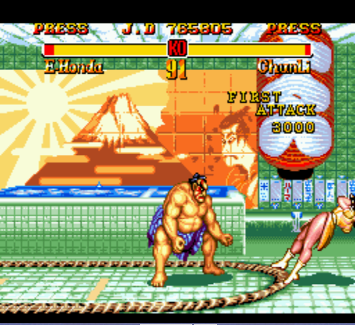 Super Street Fighter II - Can see the name up there? ;) - User Screenshot