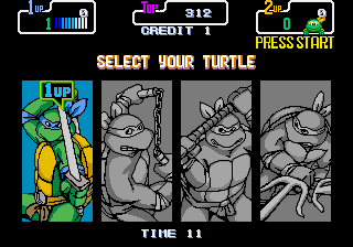 Donatello -Character Select :Pick one! - User Screenshot
