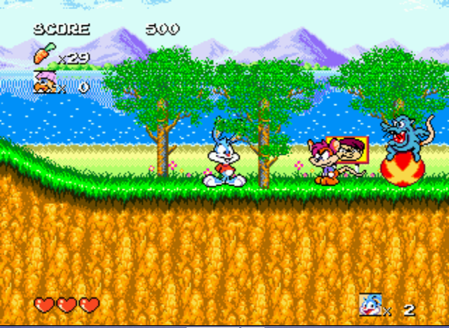 Tiny Toon Adventures - Busters Hidden Treasure - Even MORE Rats. - User Screenshot