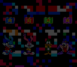 Tiny Toon Adventures - Wacky Sports Challenge - If U can see... I