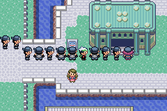 Pokemon Rebirth - Location  - *Sigh* I hate lines!! - User Screenshot