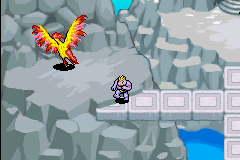 Pokemon Mystery Dungeon - Red Rescue Team - Character Select  - Moltres - User Screenshot