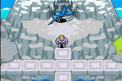 Pokemon Mystery Dungeon - Red Rescue Team - Character Select  - Articuno - User Screenshot