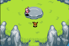 Pokemon Mystery Dungeon - Red Rescue Team - Character Profile Legendary - Mew! - User Screenshot