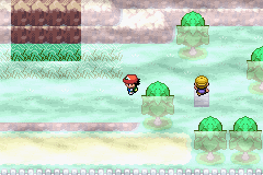 Pokemon Ash Gray (beta 2.5z) - uhh wtf is that (top left hand corner) - User Screenshot