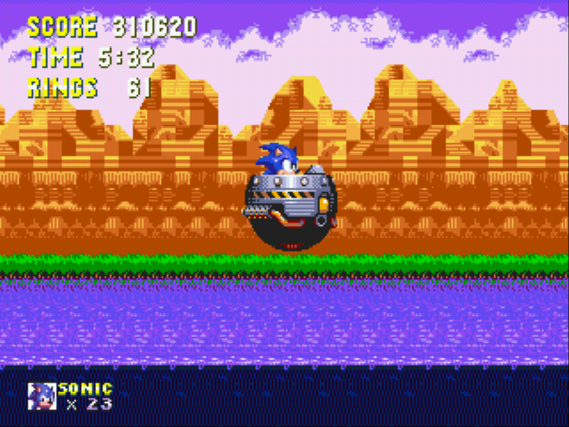Sonic 3 Complete - I Have A Car =D - User Screenshot