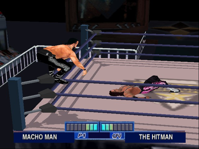WCW Mayhem - I see an Elbow Drop coming - User Screenshot