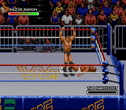 WWF Royal Rumble - Razor Defeats Luger - User Screenshot