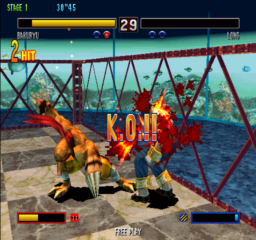 Bloody Roar 2 (World) - Level Stage 1 - Bloody briliant, it\