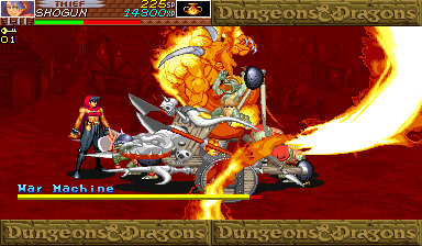 Dungeons & Dragons: Shadow over Mystara (Euro 960619) - Have a taste of Ifrit/Efreet! - User Screenshot