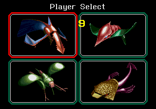 Bio-hazard Battle (Mega Play) - Character Select  -  - User Screenshot