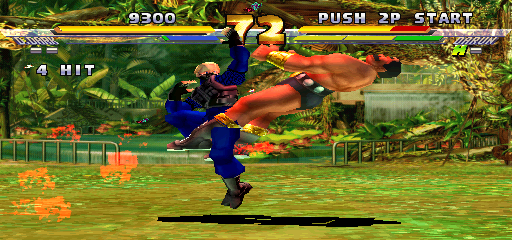 Street Fighter EX 2 Plus (USA 990611) - Level stage 1 - Kniferyuken? - User Screenshot