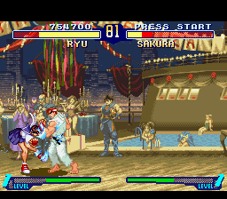 Street Fighter Alpha 2 - Ryu