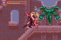 Castlevania - Aria of Sorrow - clash of the titans! - User Screenshot