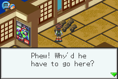 Megaman Battle Network 3 Blue - Yeah.......No one should stay in here ever... - User Screenshot