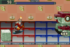 Megaman Battle Network - Fire vs. Stone - User Screenshot