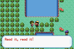 Pokemon Kohaku Adventures - read what - User Screenshot
