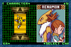Digimon - Battle Spirit - Menus character -  - User Screenshot