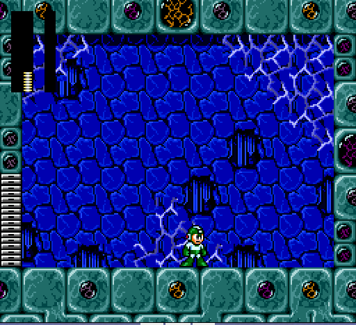 Mega Man - The Wily Wars - Level  - I PUT SNAKES IN HIS PANTS!! :D - User Screenshot