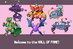 Pokemon Burning Ruby - Battle  - first elite win - User Screenshot